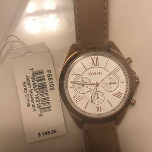 Gently used Fossil Watch